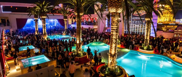 Pool at Drai's Nightclub