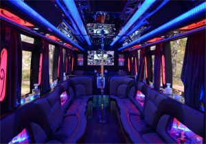 Inside the DOUBLE DOWN las vegas party bus
