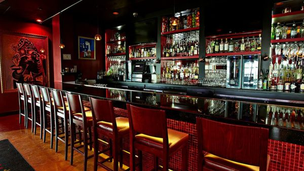 Bar area at Firefly Tapas Bar
