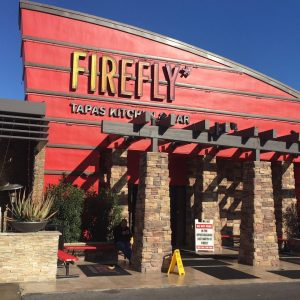 Street view of Firefly Tapas Kitchen & Bar