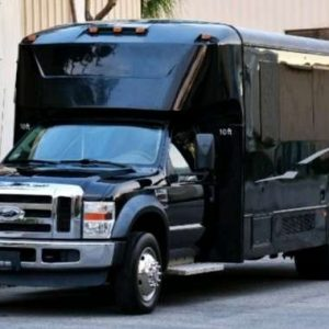 YOLO 25 passenger party bus