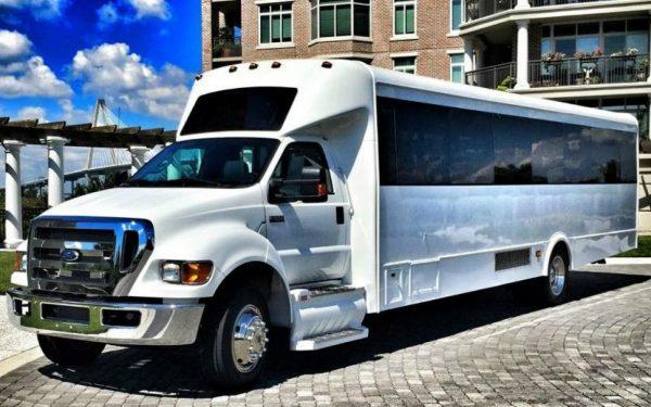 BIG TIME 40 passenger Las Vegas Party Bus