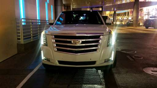 Front shot of ICON super stretch escalade